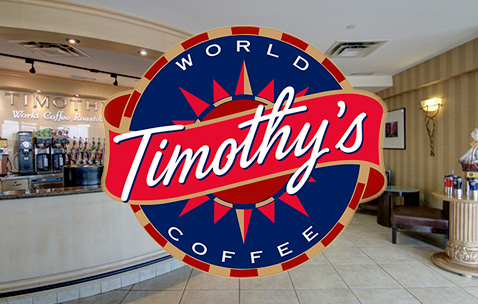 Timothy's Coffee logo